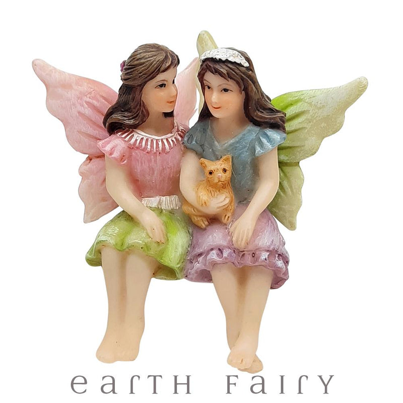 Fairy Sisters from The WIllow Fairy Garden Collection by Earth Fairy