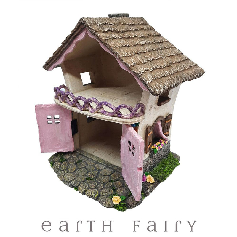 Fairy Townhouse with Opening Double Doors | Fairy Garden Houses - Australia | Earth Fairy