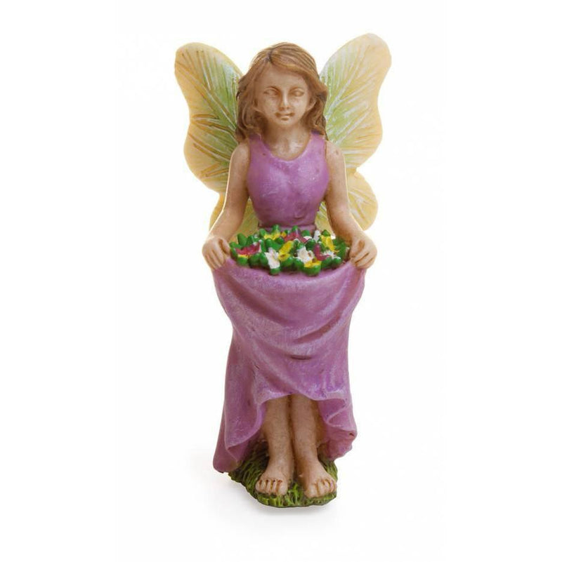 Fairies & Friends Fairy with a Skirt Full of Flowers Earth Fairy