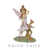 Fairy with Bird - Lilac, from Fairy Figurine Collection by Earth Fairy
