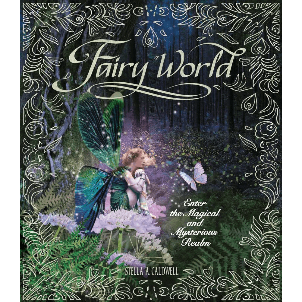 Books & Stationery Fairy World: Enter the Magical and Mysterious Realm by Stella A. Caldwell Earth Fairy
