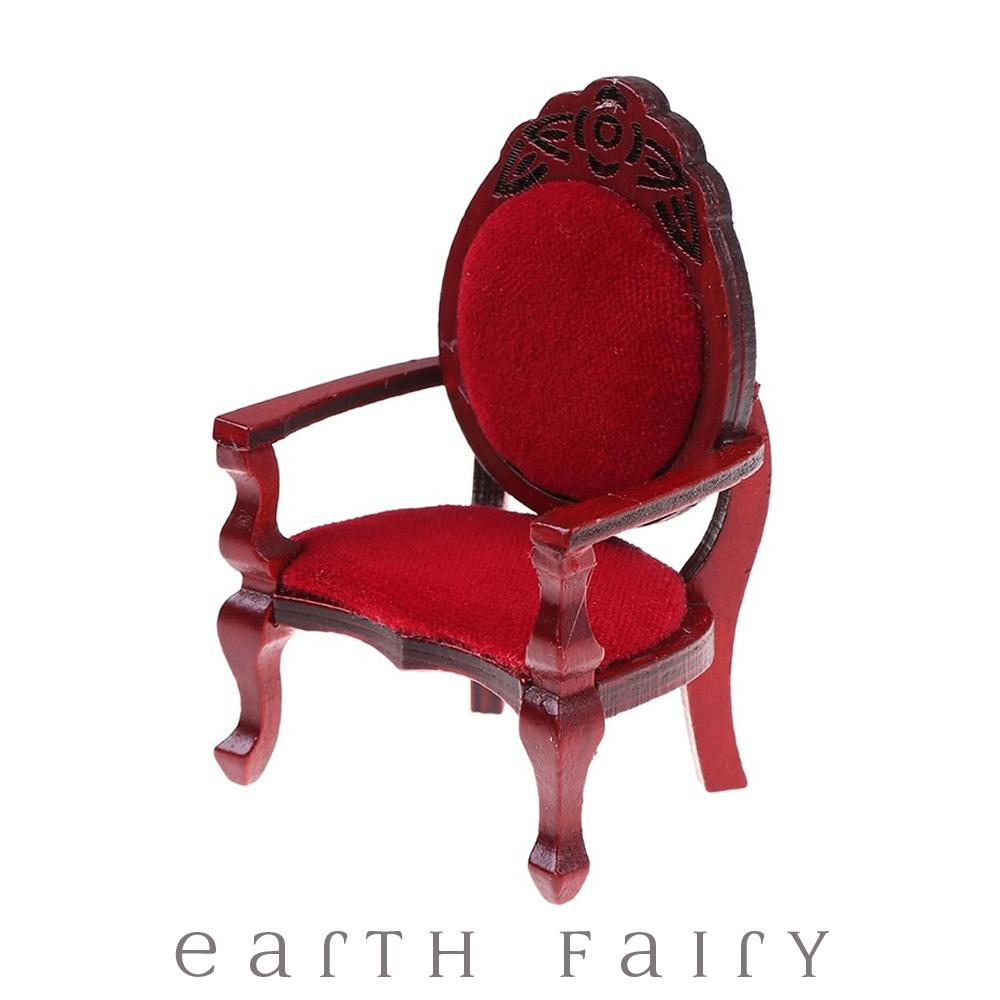 Fancy Chair, from The Miniature Fairy Garden Furniture Collection by Earth Fairy