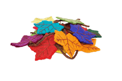 Room Accents Felt Flame Tree Rainbow Garland Earth Fairy