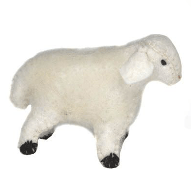 Fairy Play Felt Sheep Small Earth Fairy