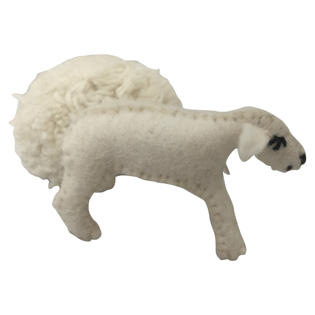 Felt Sheep (with Removable Coat)
