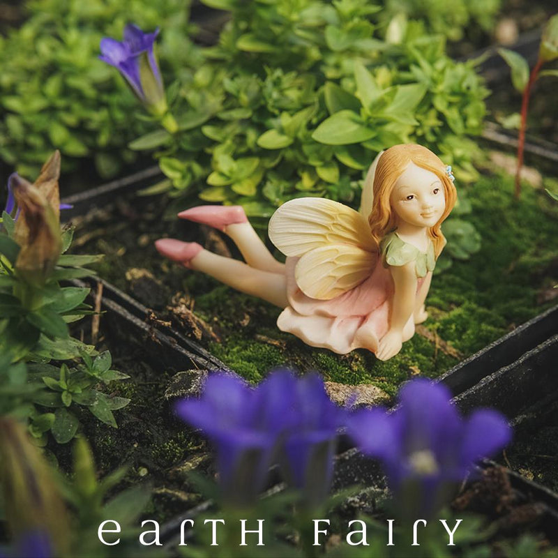 Flower Fairy Fiona Miniature Figurine from The Fairy Garden Figurine Collection by Earth Fairy