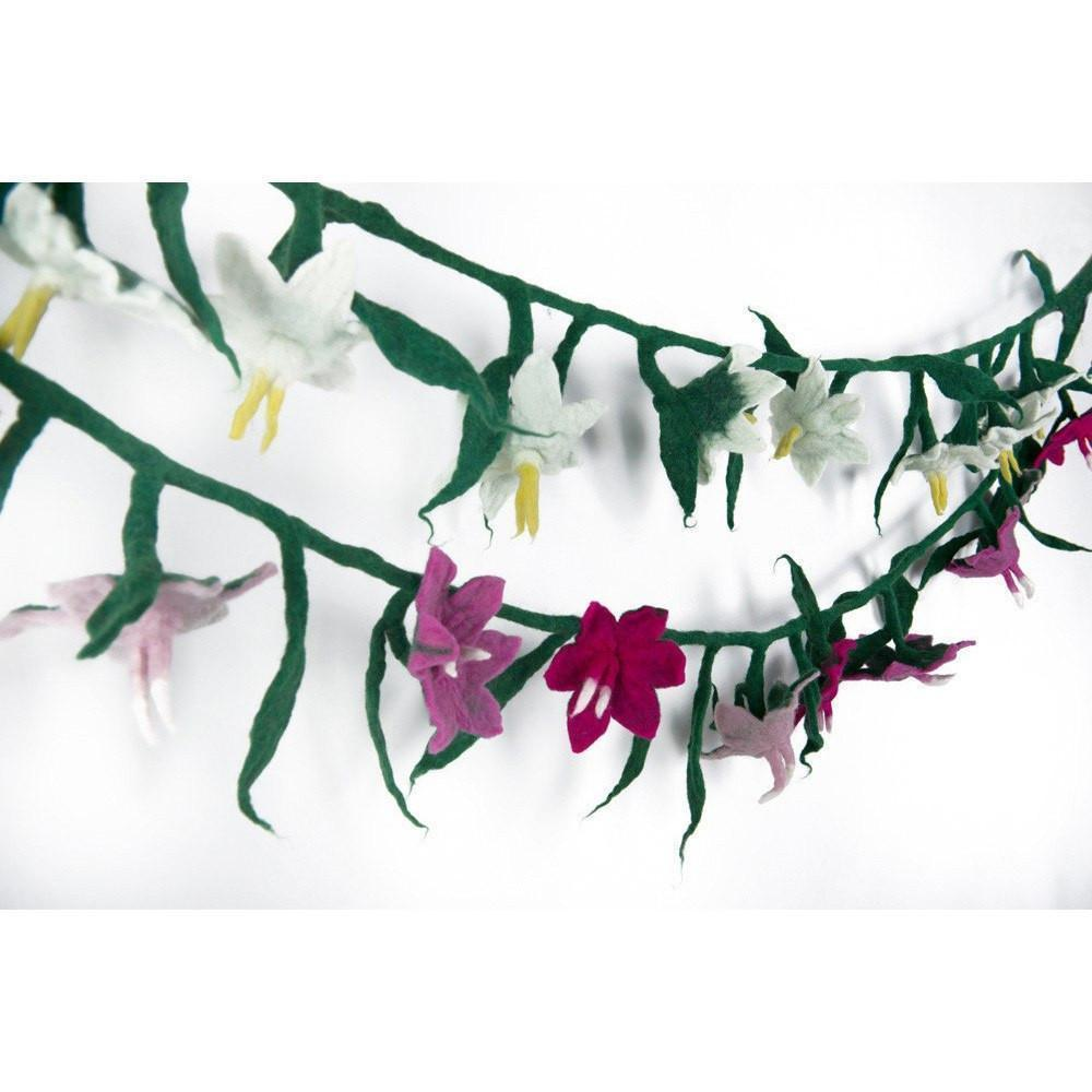 Room Accents Flower Garlands Earth Fairy
