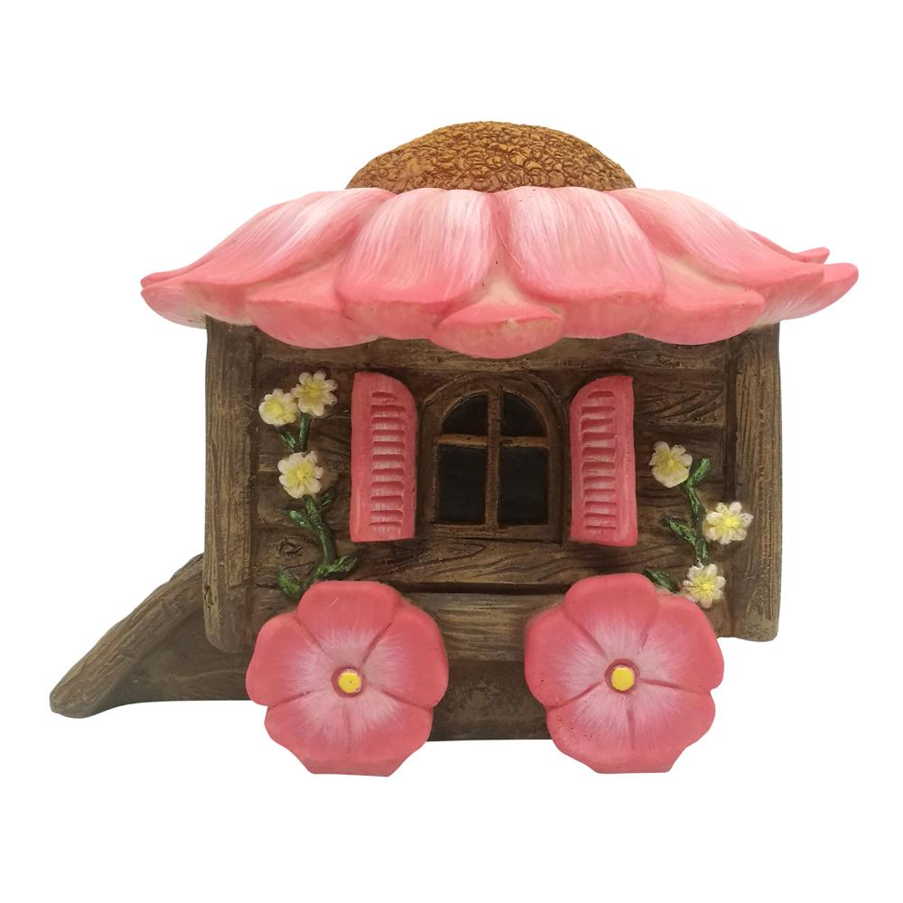 Flower Gypsy Caravan | Fairy Garden Accessories - Australia | Earth Fairy