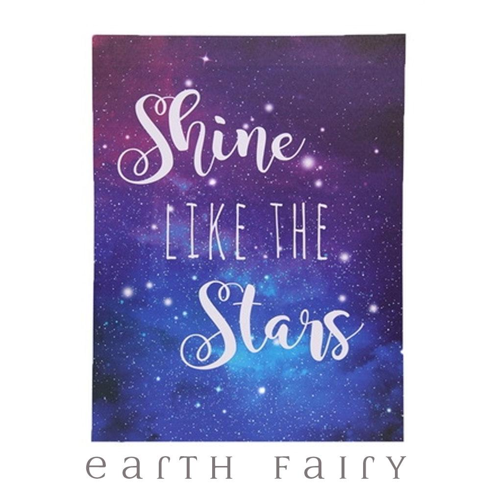 Follow Your Dreams - Shine Like the Stars - Set of 2 Canvases | Earth Fairy