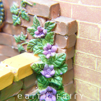 Fountain Pond - Purple Flower Close Up | Fairy Garden Ponds - Australia | Earth Fairy
