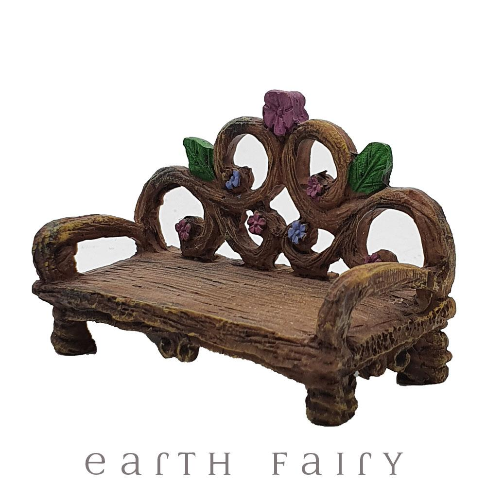 Garden Bench from The Willow Fairy Garden Collection by Earth Fairy