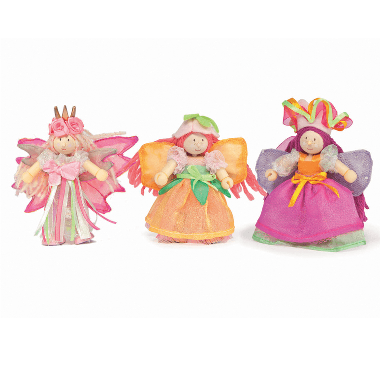 Fairy Play Garden Fairies Triple Budkin Set Earth Fairy