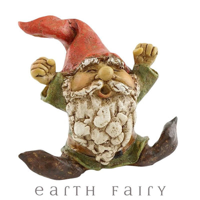 Garden Gnome Yawning | Garden Gnomes & Miniatures | Earth Fairy