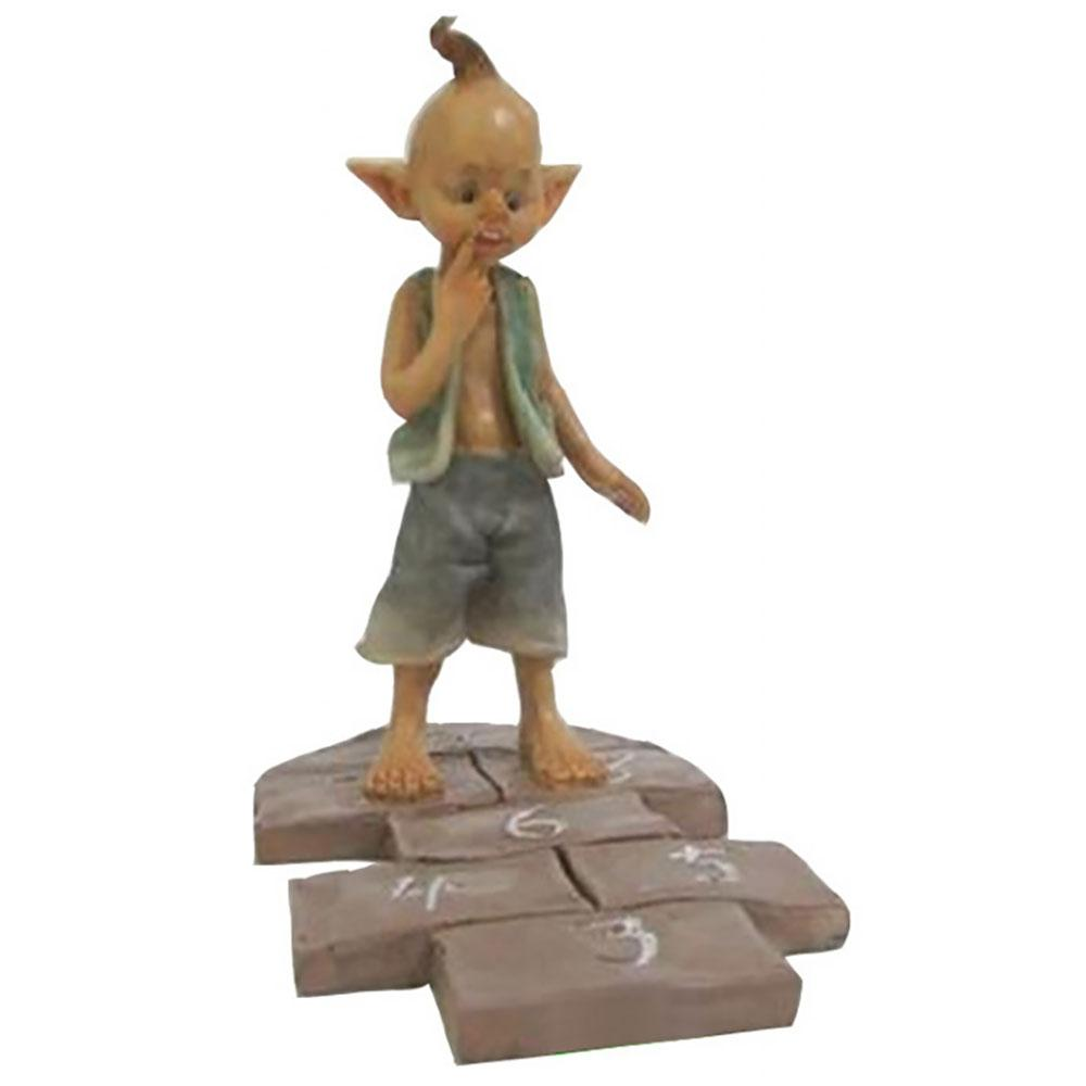 Garden Pixie Playing Hopscotch | Pixies, Gnomes & Elves - Australia | Earth Fairy