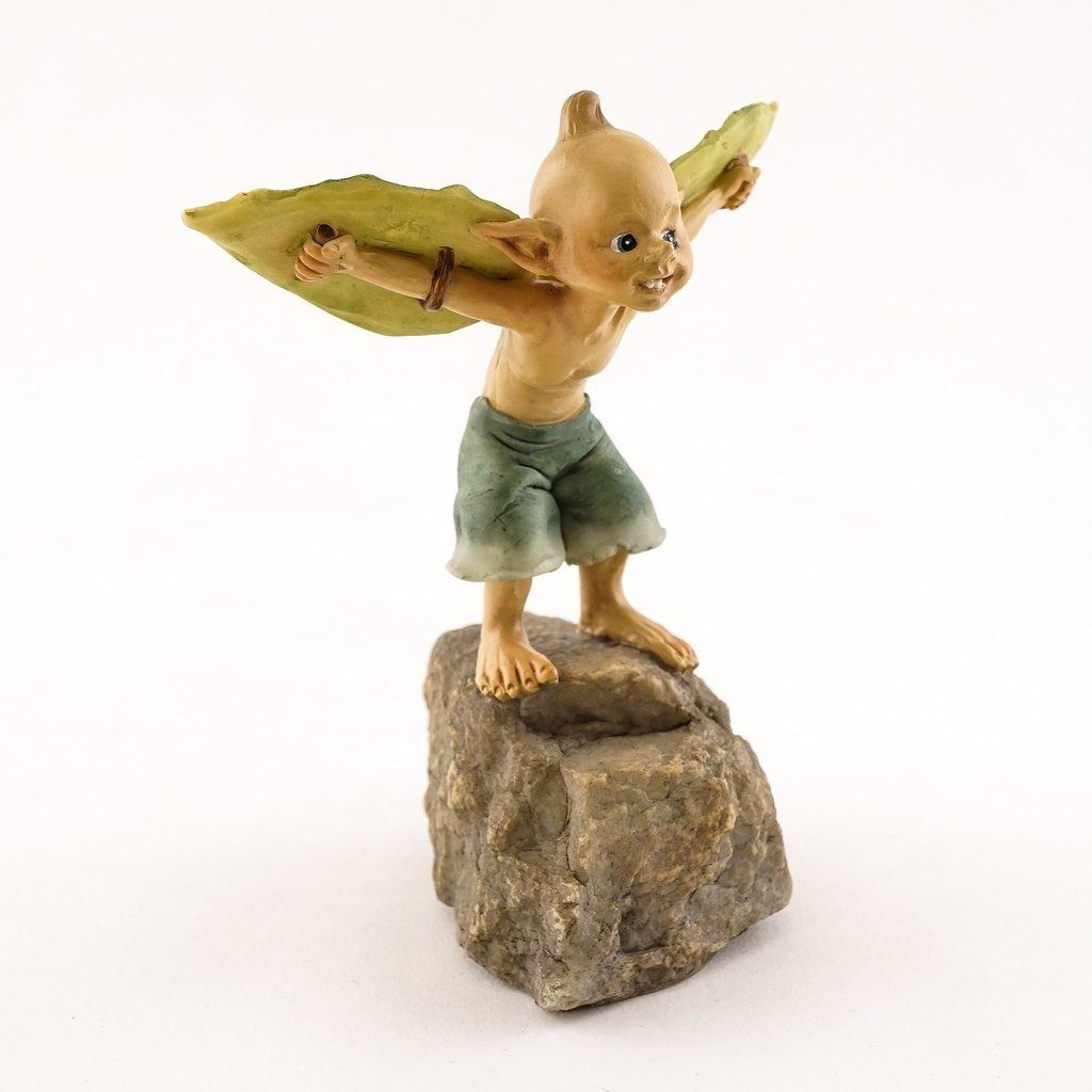 Garden Pixie Ready to Take Off Earth Fairy