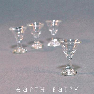 Glasses - Set of 4 | Fairy Garden Miniatures | Earth Fairy