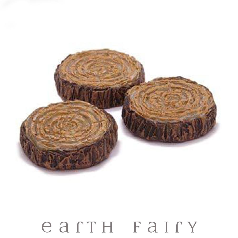 Glow in the Dark Stepping Stones - Set of 3 | Fairy Gardens - Australia | Earth Fairy