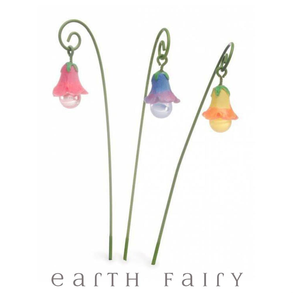 Glow in the Dark Tiny Flowers - Set of 3