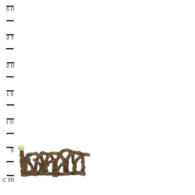 Glow in the Dark Fence - Scale Ruler, from the Glow Fairy Garden Collection by Earth Fairy