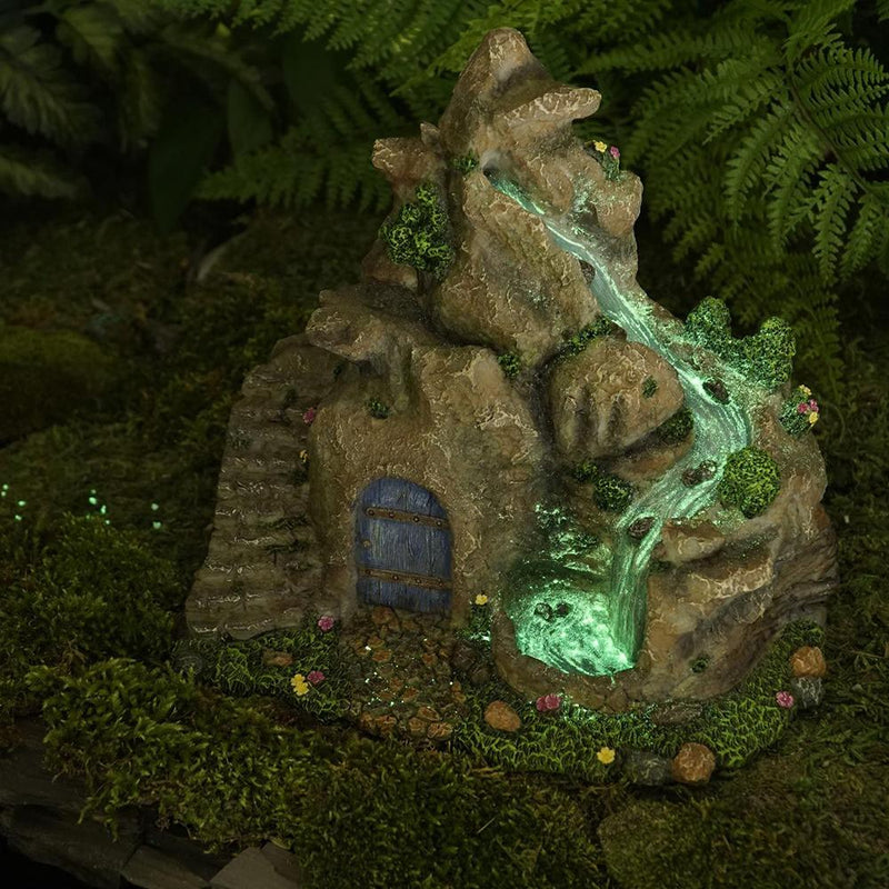 Glow Waterfall | Fairy Garden Landscaping - Australia | Earth Fairy