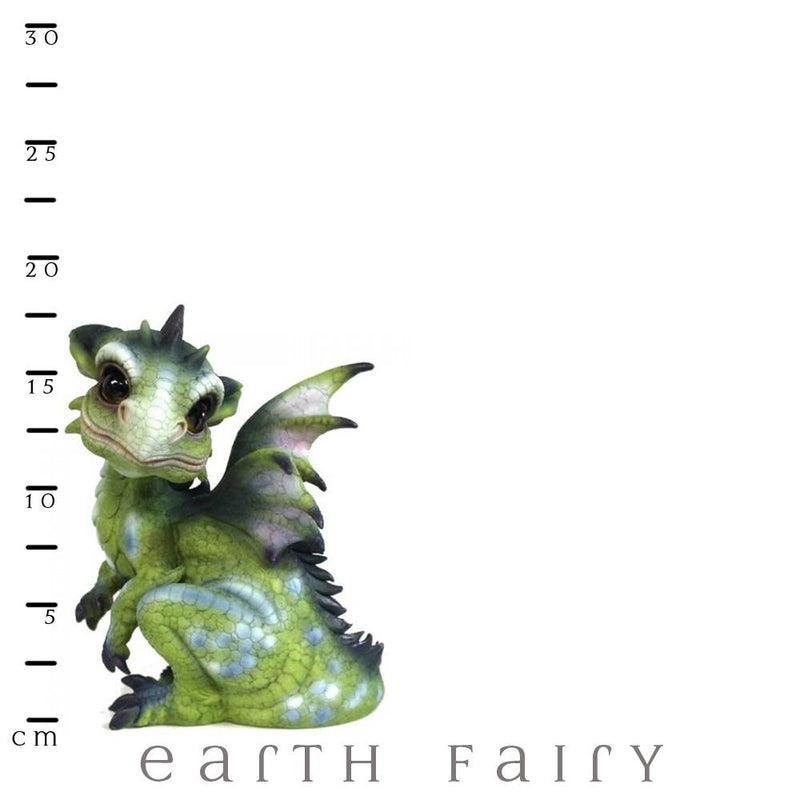 Green Baby Dragon | Dragon Gifts | Earth Fairy | Free Shipping