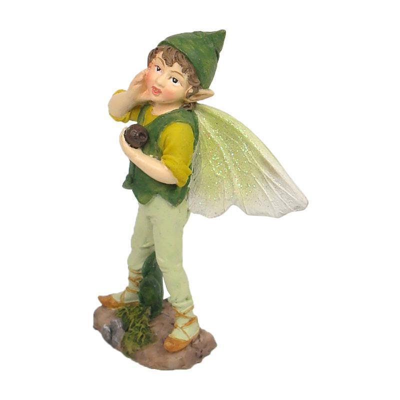 Green Garden Elf | Fairy Garden Elves - Australia | Earth Fairy
