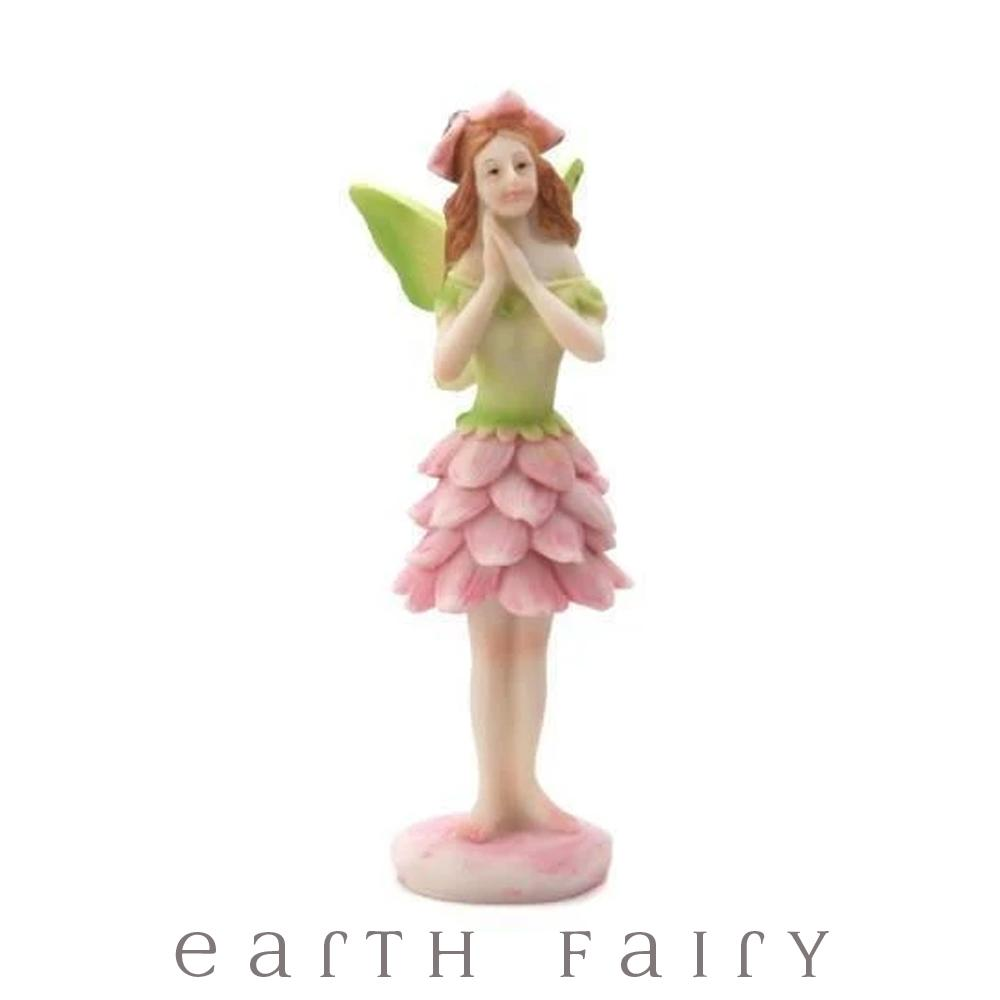 Green Winged Fairy - Standing | Fairy Gardens | Earth Fairy