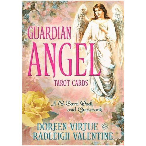 Books & Stationery Guardian Angel Tarot Cards by Doreen Virtue Earth Fairy