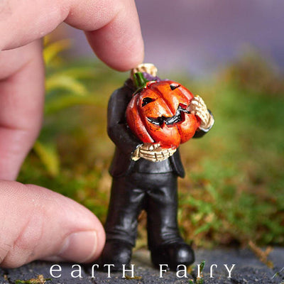 Headless Pumpkin (Shown Hand Held) from The Halloween Miniature Collection by Earth Fairy