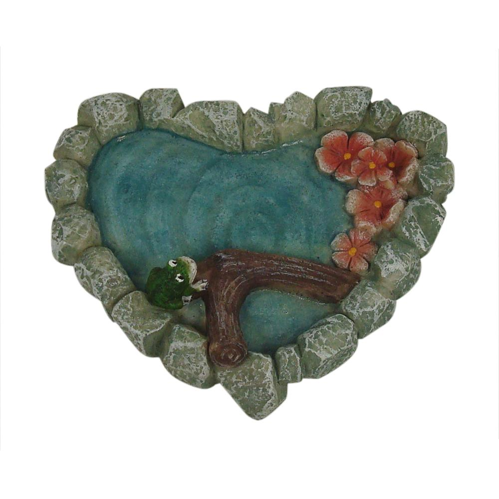 Heart Shaped Pond | Fairy Garden Landscaping - Australia | Earth Fairy