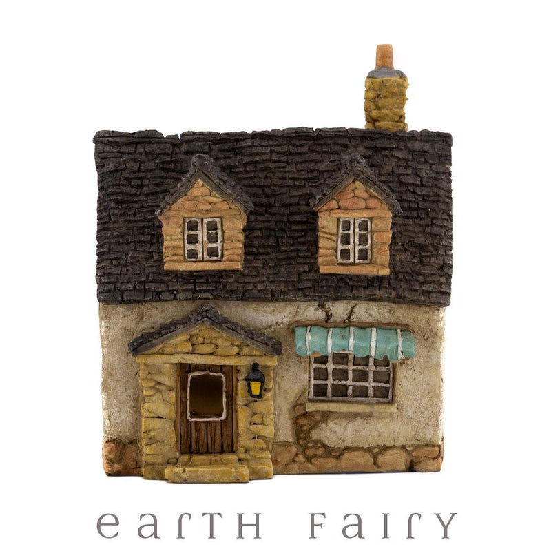 House with Awning - Micro | Fairy Garden Miniatures & Collectibles - Australia | Earth Fairy