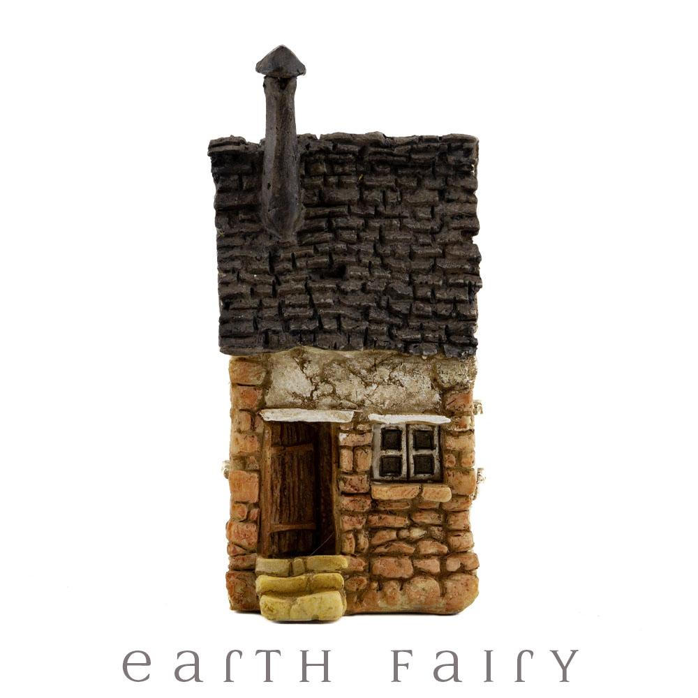 House with Tall Chimney - Micro | Fairy Garden Miniatures & Collectibles - Australia | Earth Fairy