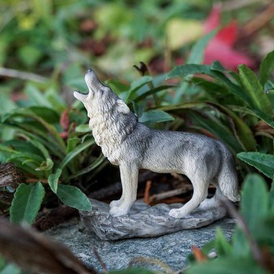 Howling Wolf | Fairy Garden Animals - Australia | Earth Fairy