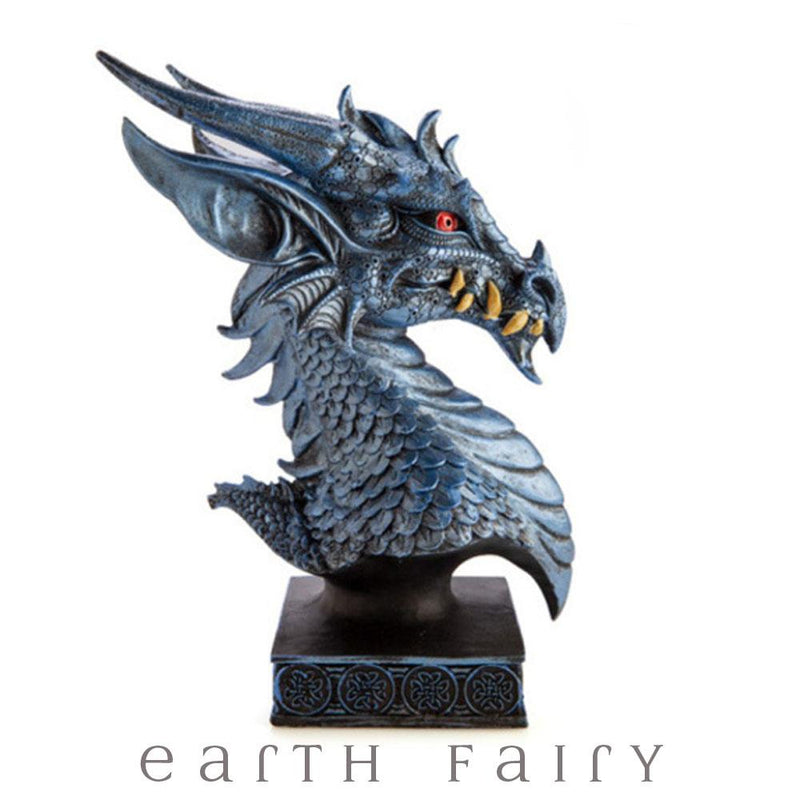 Ice Dragon Bust | Dragon Figurines - Australia | Earth Fairy