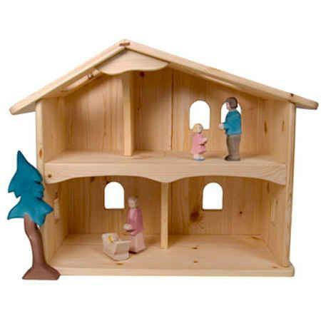 Fairy Play Ivy Manor Wooden Dollhouse Earth Fairy