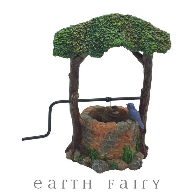 Ivy Wishing Well with Bluebird | Fairy Garden Miniatures - Australia | Earth Fairy