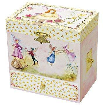 Room Accents Just In Case Fairy Music Box Earth Fairy