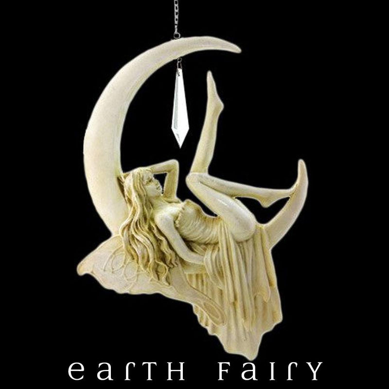 Lazy Days - Moon Fairy Dream Catcher | FREE SHIPPING | Earth Fairy