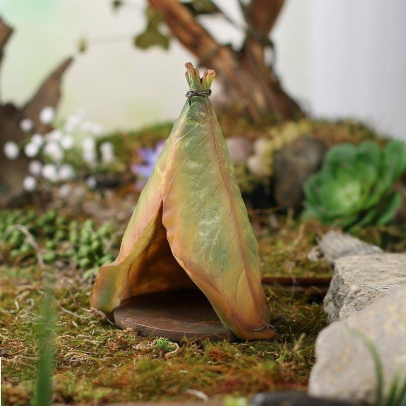 Fairy Gardens Leaf Teepee Earth Fairy