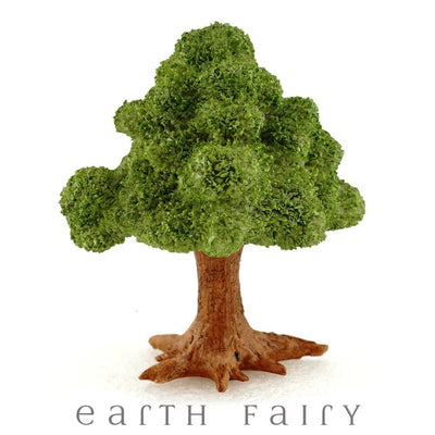 Leafy Tree with Pick | Fairy Garden Landscaping | Earth Fairy