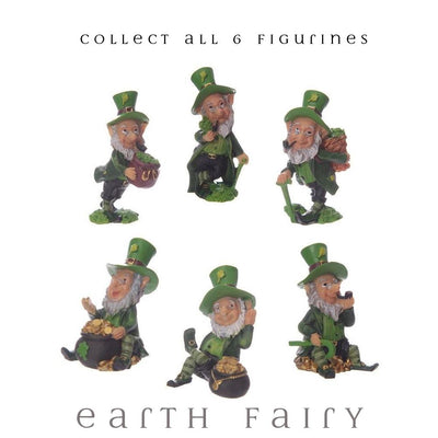 Leprechauns - Collect All 6 Figurines, from The Miniature Leprechaun Figurine Collection by Earth Fairy