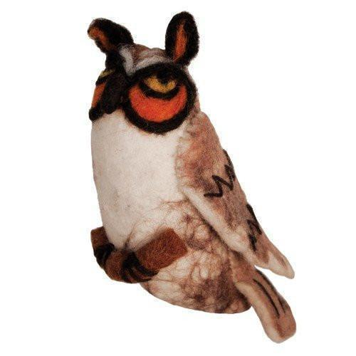 Fairy Play Long Eared Owl Earth Fairy