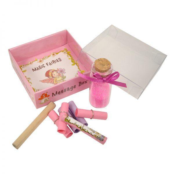 Fairy Dust & Wishes Magic Fairy<br> Message Box Earth Fairy