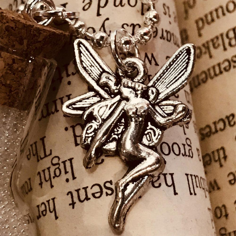 Magical Fairy Dust - Necklace with Charm, from The Magical Fairy Jewellery Collection by Earth Fairy