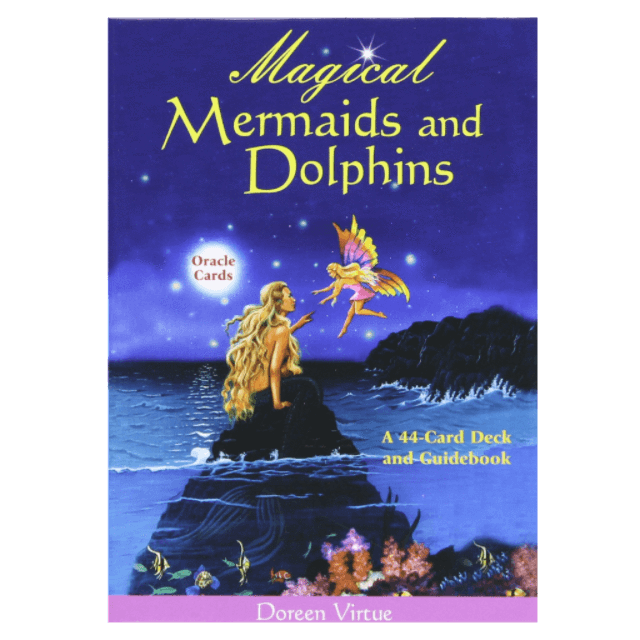 Books & Stationery Magical Mermaids and Dolphins Cards by Doreen Virtue Earth Fairy
