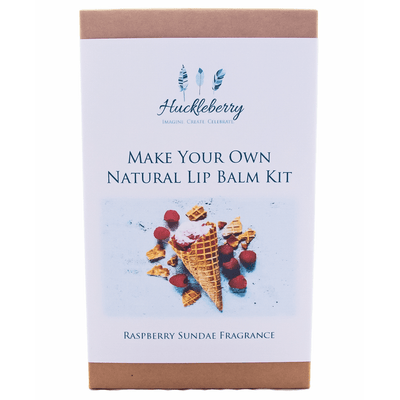 Fairy Play Make Your Own Natural Lip Balm Kit Raspberry Sundae Earth Fairy