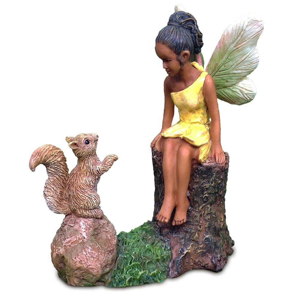 Making Friends | Fairy Garden Figurines- Australia | Earth Fairy