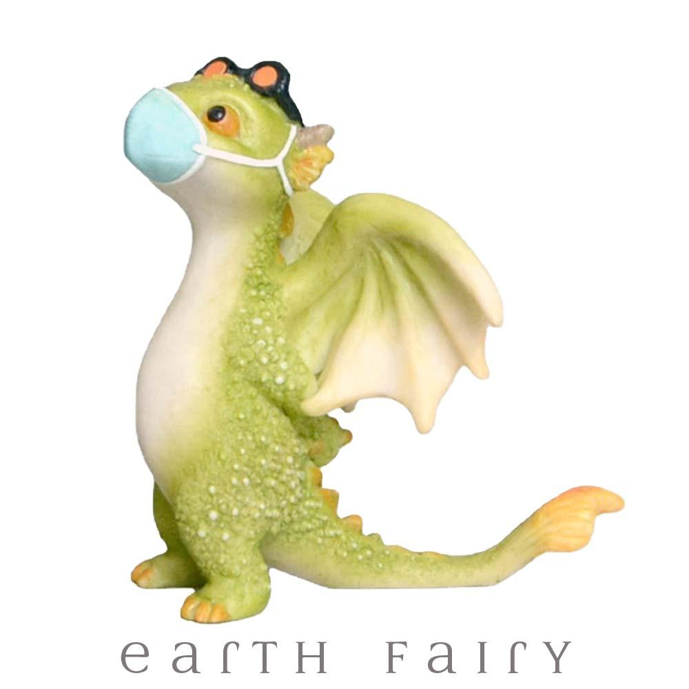 Masked Dragon from The Fairy Garden Miniature Collection by Earth Fairy