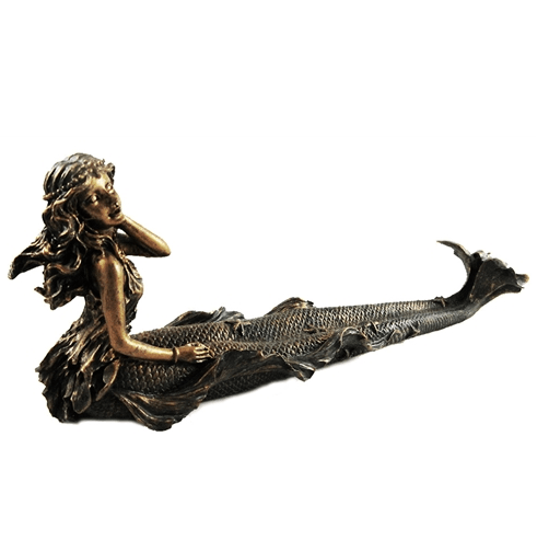 Room Accents Mermaid Incense Holder Earth Fairy