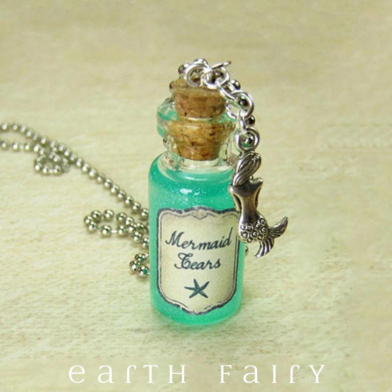 Mermaid Tears Necklace from The Magical Fairy Jewelry Collection by Earth Fairy